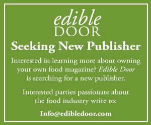 Edible Door is seeking a new publisher