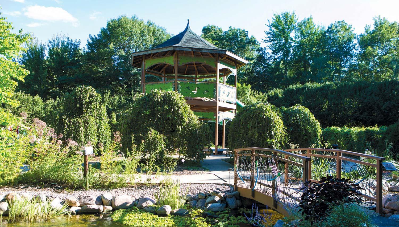 the ever-changing green bay botanical garden | edible door
