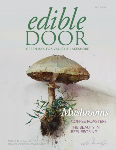 Spring 2016 issue of Edible Door