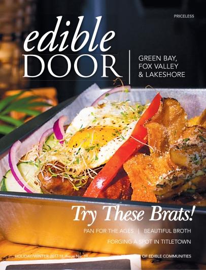 Edible Door Magazine Holiday/Winter 2017-18