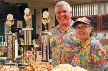 Mike & Mary Vande Walle, owners of Uncle Mike's Bake Shoppe.
