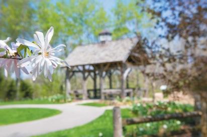 Jenquine Pavillion and Overlook Garden.