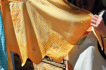 close up of apron