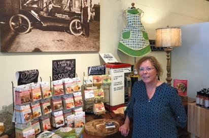 Madison Avenue Wine Shop & Market owner DeDe McCartney has blended some Sturgeon Bay West Side history in her new expanded business.