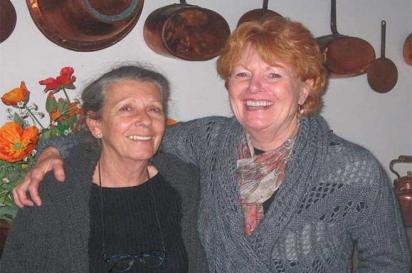 Janice Thomas and Giada Amadei