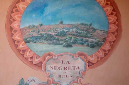 A mural in Sicily