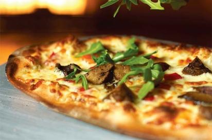 Wild Mushroom Flatbread Pizza