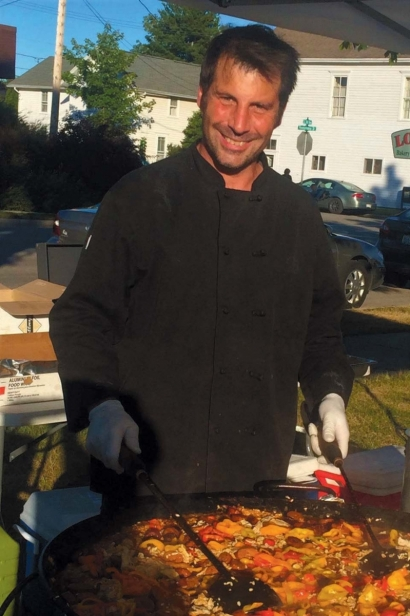 Scott McEvoy, owner of the Culinaria in Sister Bay