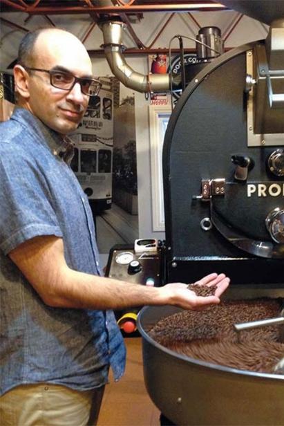 Mark Patel of Luna Coffee