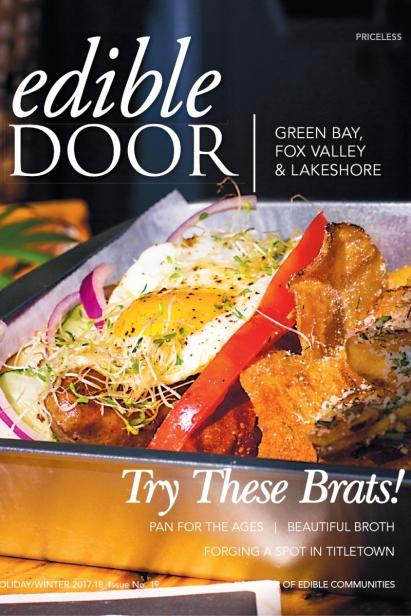 Edible Door, Issue #19, Holiday/Winter 2017-18