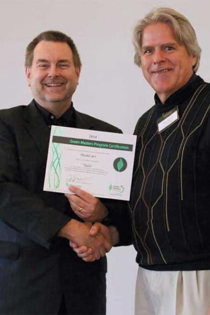 Paul Linzmyer and Tom Eggert