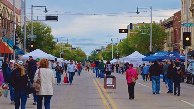Crowds in Downtown Appleton are certain to swell this summer with the farmers market and the Mile of Music.