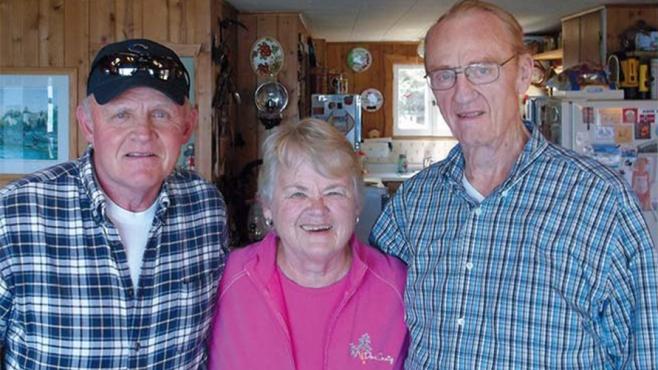 John Propsom, Judy Nash and Roger Nash