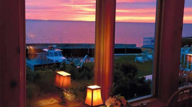 Shoreline's stunning view