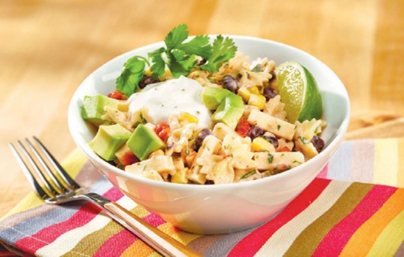 Southwestern Pasta Salad with Wisconsin Cheese