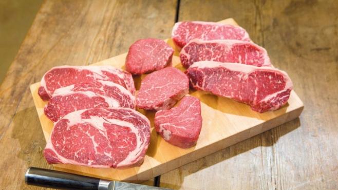 Steaks from Waseda Farms