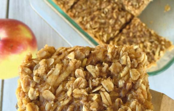 Apple Peanut Butter Bars