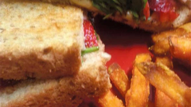 Strawberry Grilled Cheese