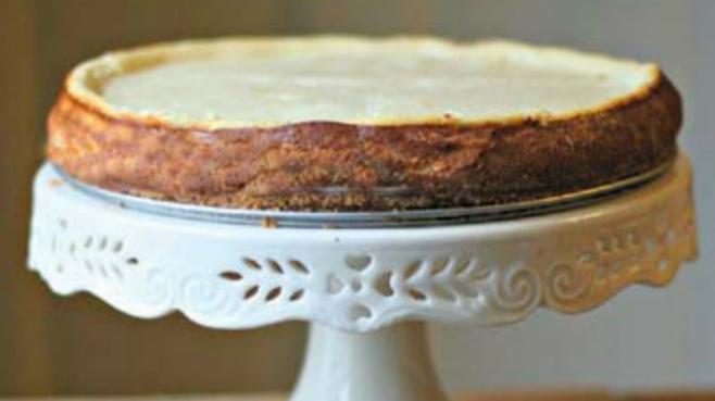 vanilla yogurt cheesecake