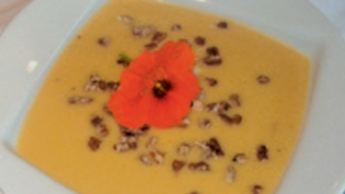 maple butternut squash bisque